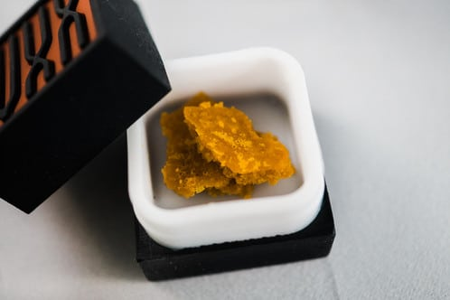 IVXX sugar wax cannabis extract, represented by NisonCo Cannabis PR Consulting